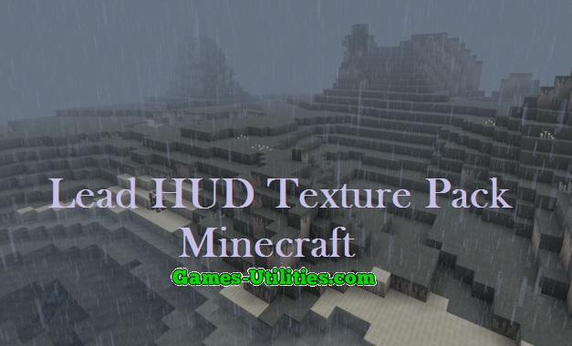 Lead HUD Resource Pack for Minecraft 1.9.1/1.9.2/1.8.9