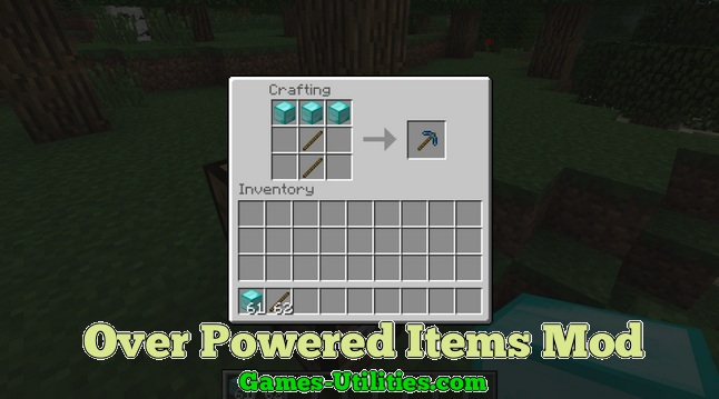 Over Powered Items for Minecraft 1.9.1/1.9.2/1.8.9