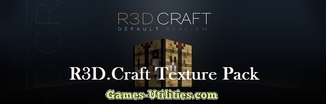 R3D.Craft Resource Pack for Minecraft 1.9.1/1.9.2/1.8.9