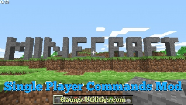 Single Player Commands for Minecraft 1.9.1/1.9.2/1.8.9