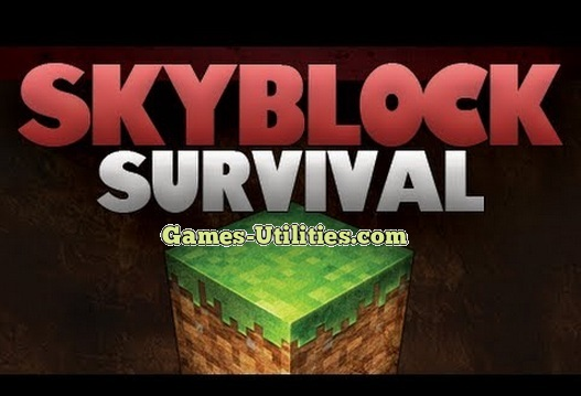 SkyBlock Survival Map for Minecraft 1.9.1/1.9.2/1.8.9