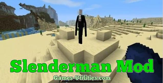 Slenderman for Minecraft 1.9.1/1.9.2/1.8.9