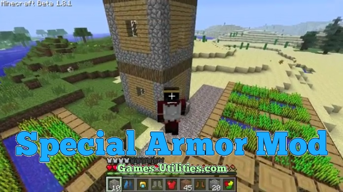 Special Armor Mod for Minecraft 1.9.1/1.9.2/1.8.9