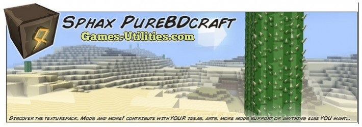 Sphax PureBDCraft Resource Pack for Minecraft 1.9.1/1.9.2/1.8.9