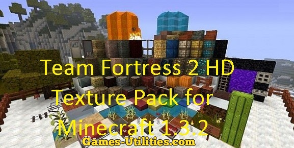 Team Fortress 2 Resource Pack for Minecraft