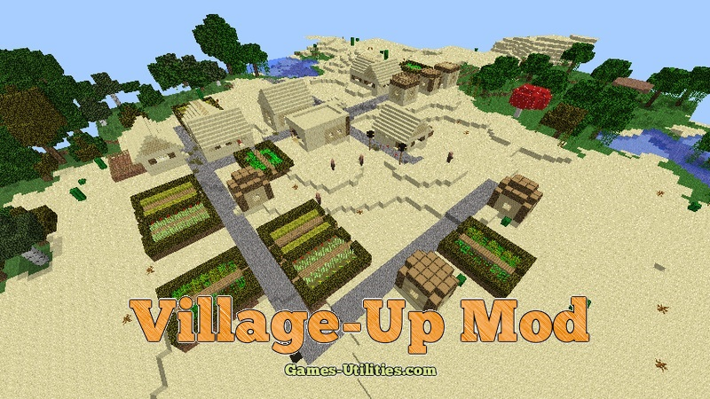 Village-Up Mod 1.9.1/1.9.2/1.8.9 - Minecraft