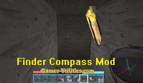 Finder Compass Mod for Minecraft