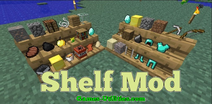 Shelf Mod for Minecraft