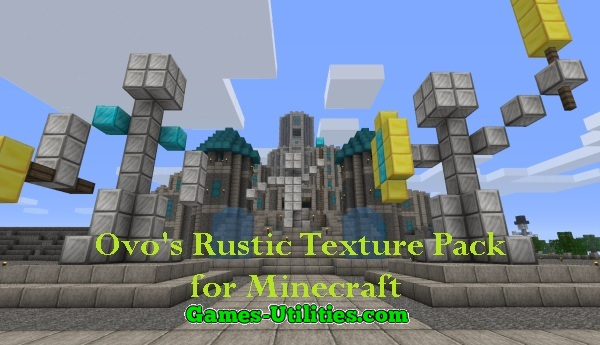 Ovo's Rustic Resource Pack for Minecraft 1.9.1/1.9.2/1.8.9