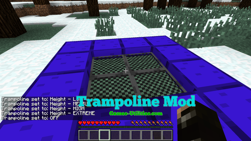 Trampoline for Minecraft