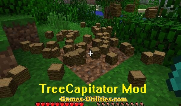 TreeCapitator for Minecraft 1.9.1/1.9.2/1.8.9