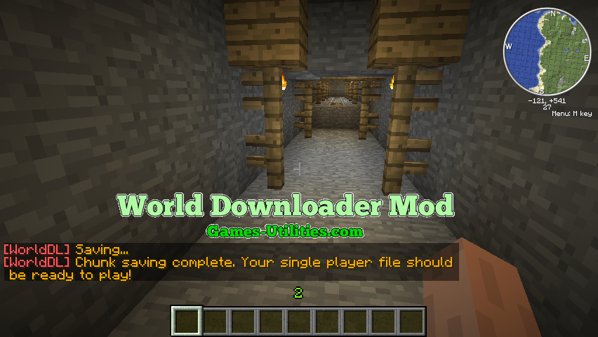 World Downloader for Minecraft 1.9.1/1.9.2/1.8.9
