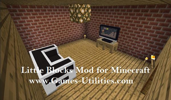Little Blocks Mod for Minecraft