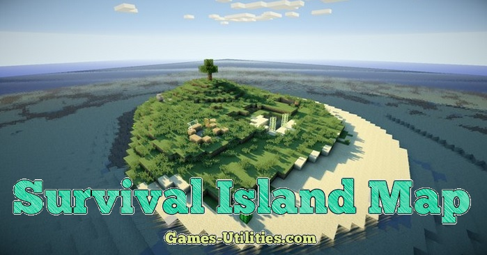 Survival Island Map for Minecraft